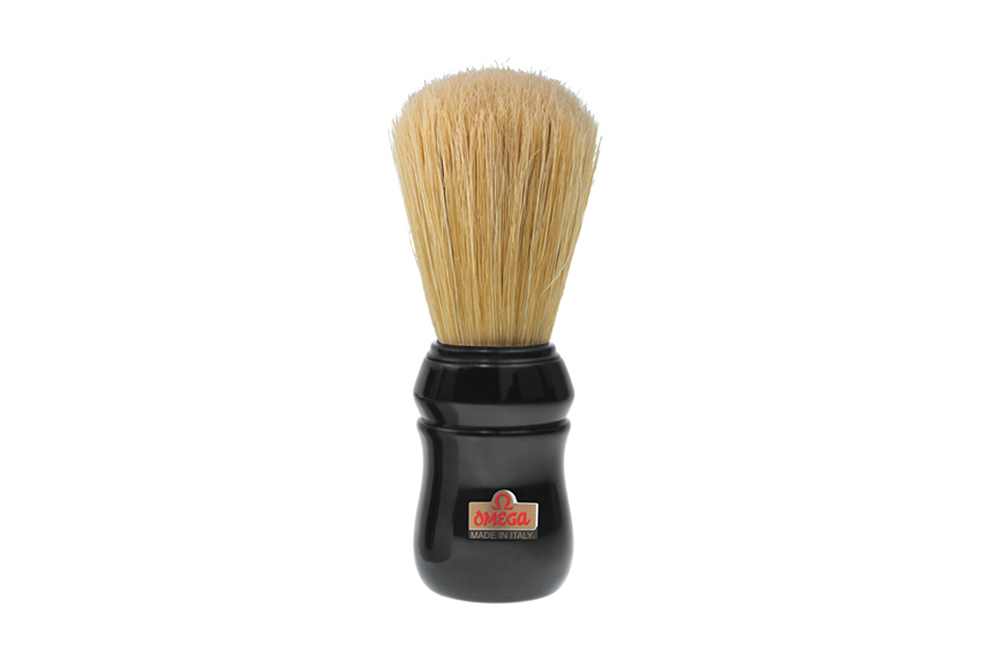 Pincel Barba Omega Cerdas Naturais Cores Sortidas