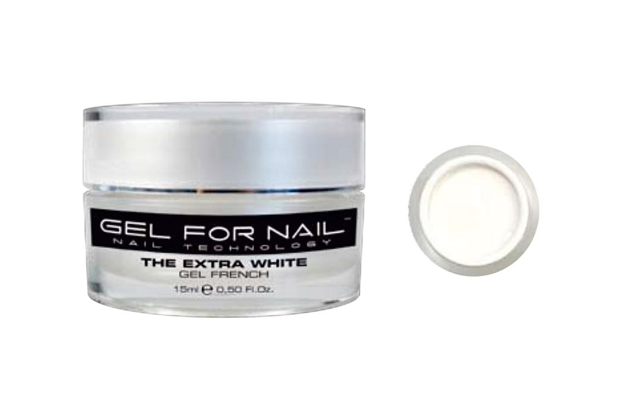 Gel Uv Unhas Gfn French Exta Branco 15 ml