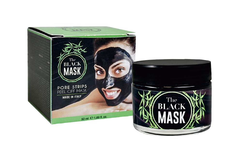 Máscara Rosto Black Mask Purificante Preta 50 ml