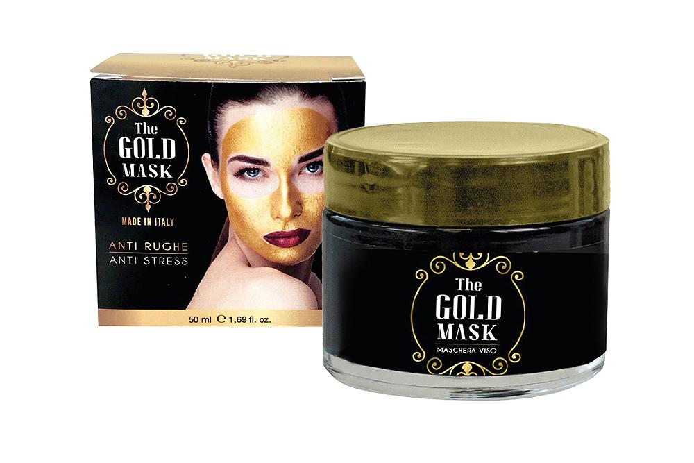 Máscara Rosto Gold Mask Refirmante Dourada 50 ml