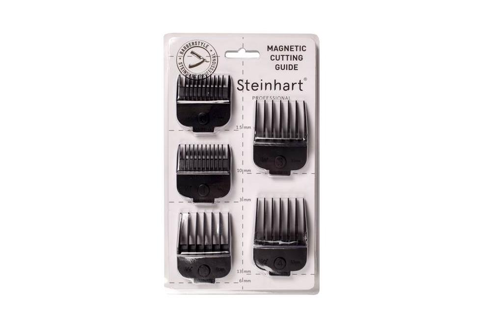 Set 5 Pentes para Máquina Corte Steinhart Monster Preta Sem Fio