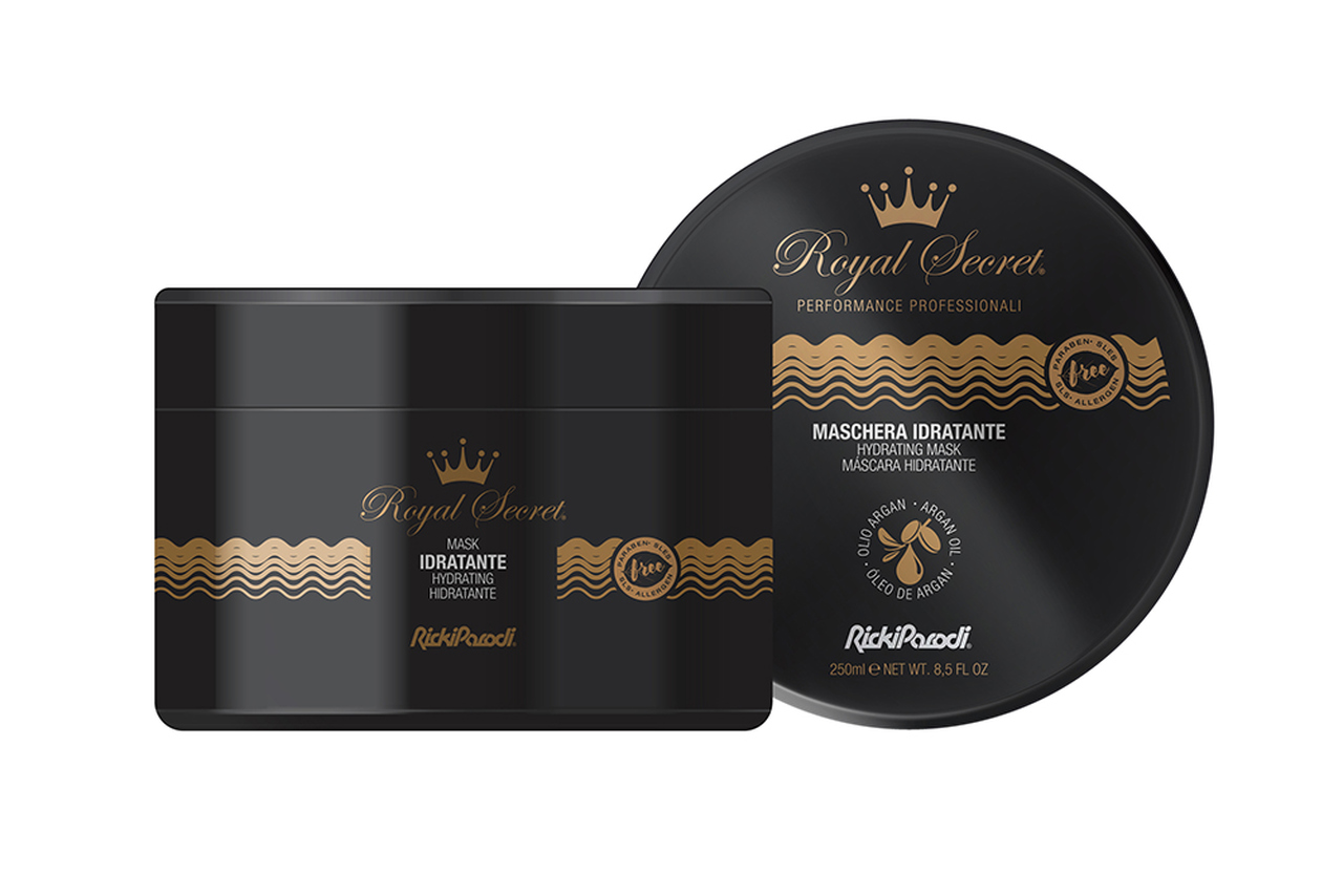 Máscara Capilar Rickiparodi Royal Secret Hidratação 250 ml