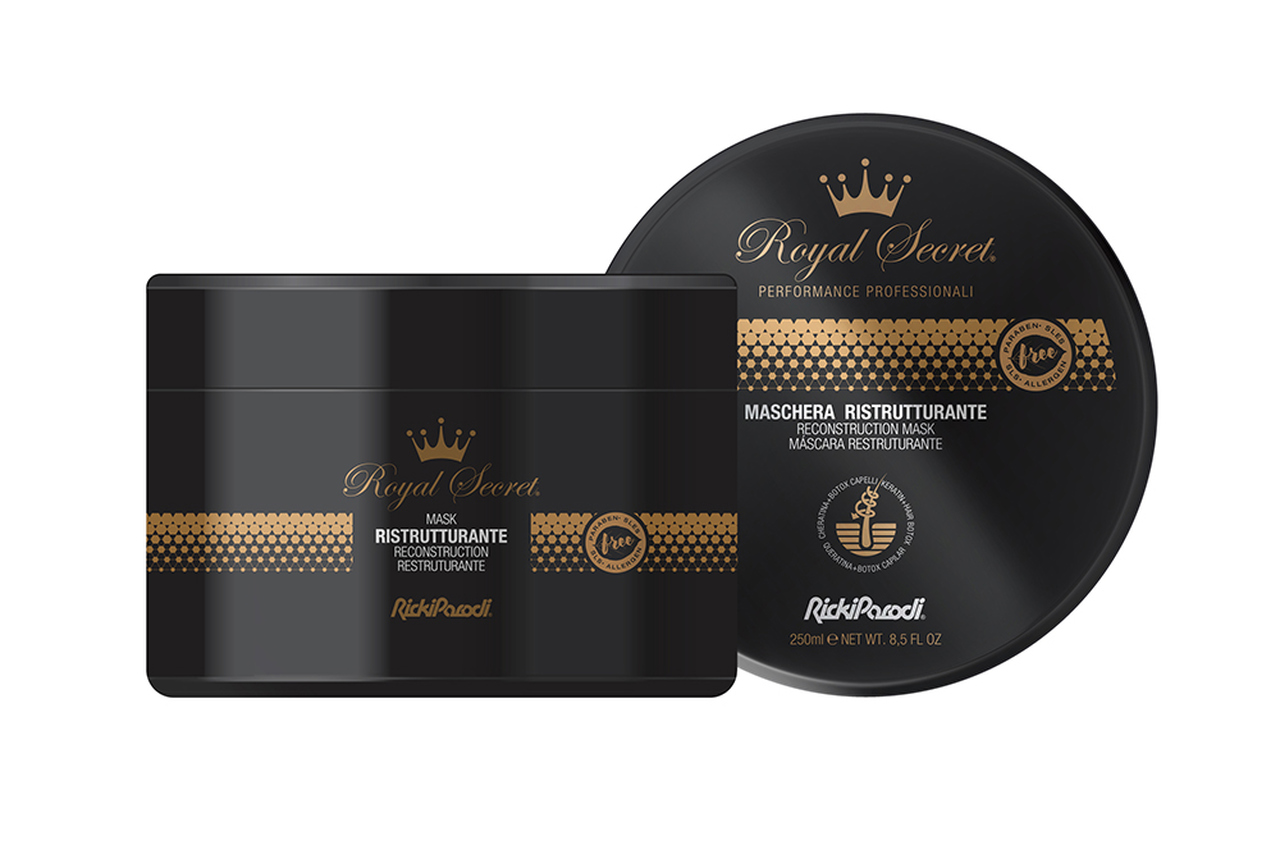 Máscara Capilar Rickiparodi Royal Secret Reconstrução 250 ml