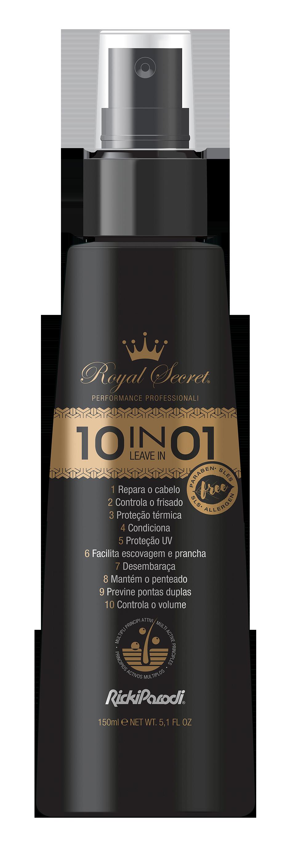 Leave In Capilar Rickiparodi Royal Secret 10 Em 1 150 ml