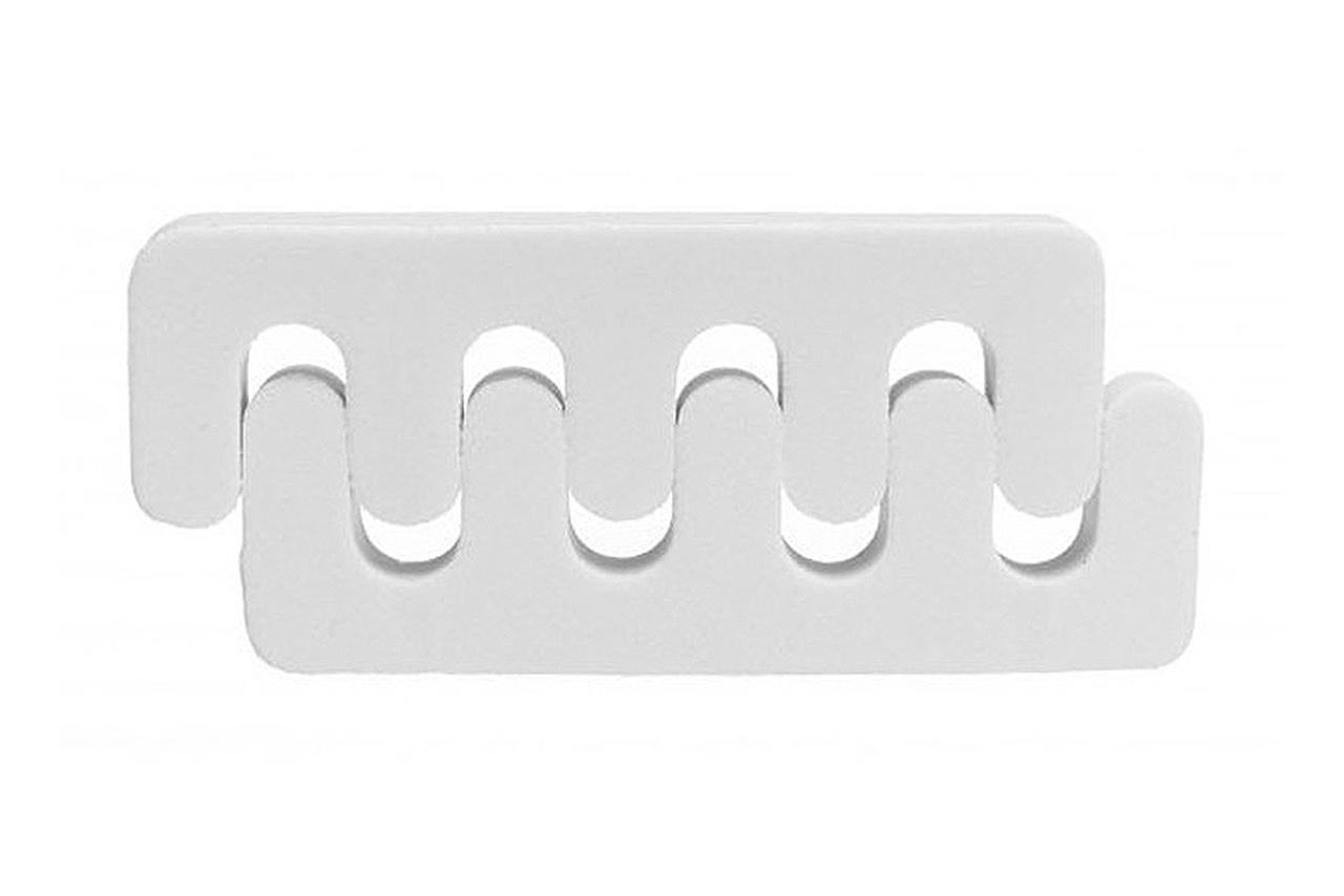 Separa Dedos Rickiparodi Branco 2 Unidades
