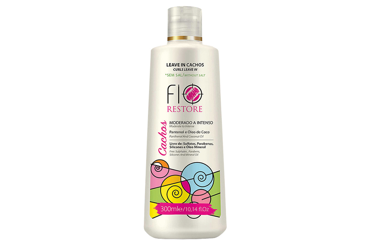 Leave In Capilar Fio Restore Cachos 300 ml