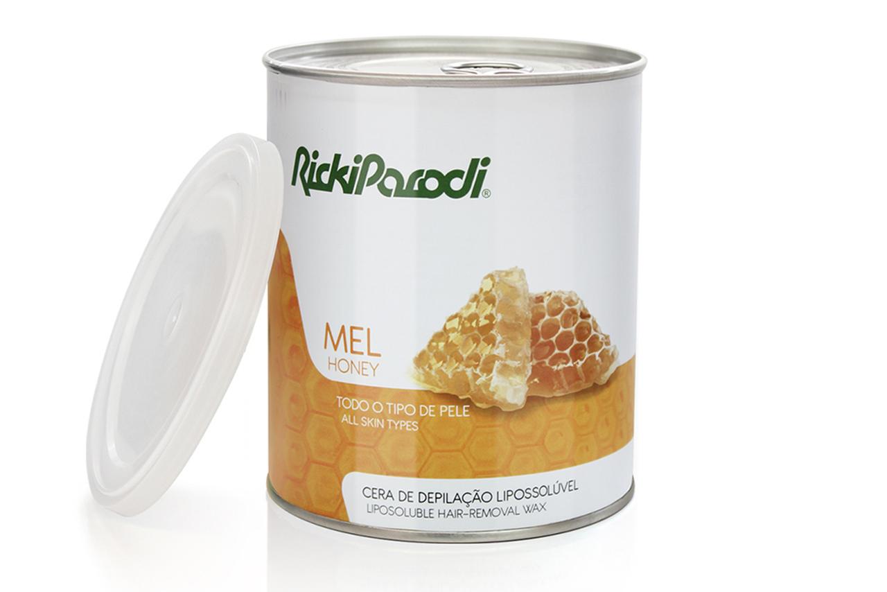 Cera Depilatória Lipossolúvel Rickiparodi Mel 800 ml