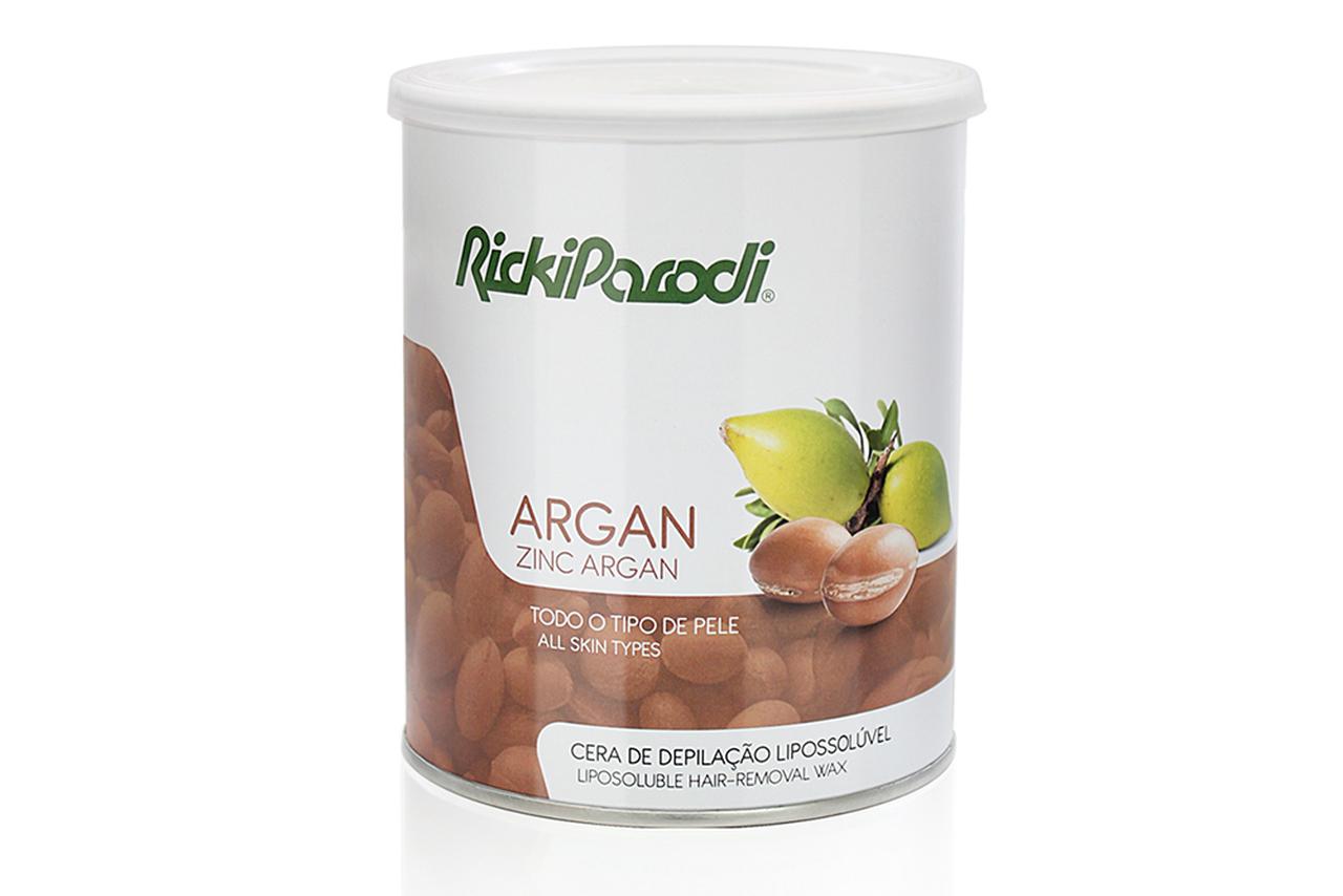 Cera Depilatória Lipossolúvel Rickiparodi Óxido Zinco & Argan 800 ml