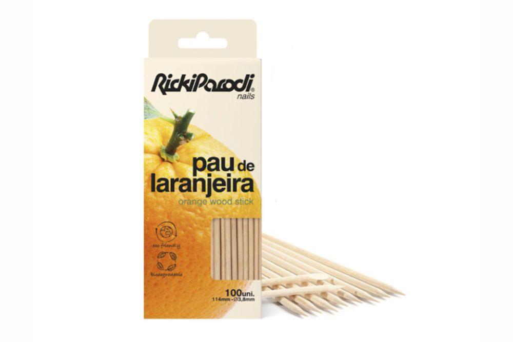 Pau Laranjeira RickiParodi Duplo 11,5cm 100 Unidades