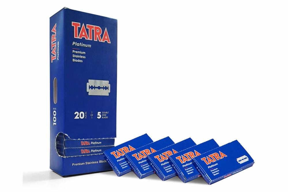 Lâminas Tatra Platinium 100 Unidades